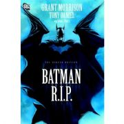 Batman R.I.P. RIP Graphic Novel Hardcover HC DC Comics